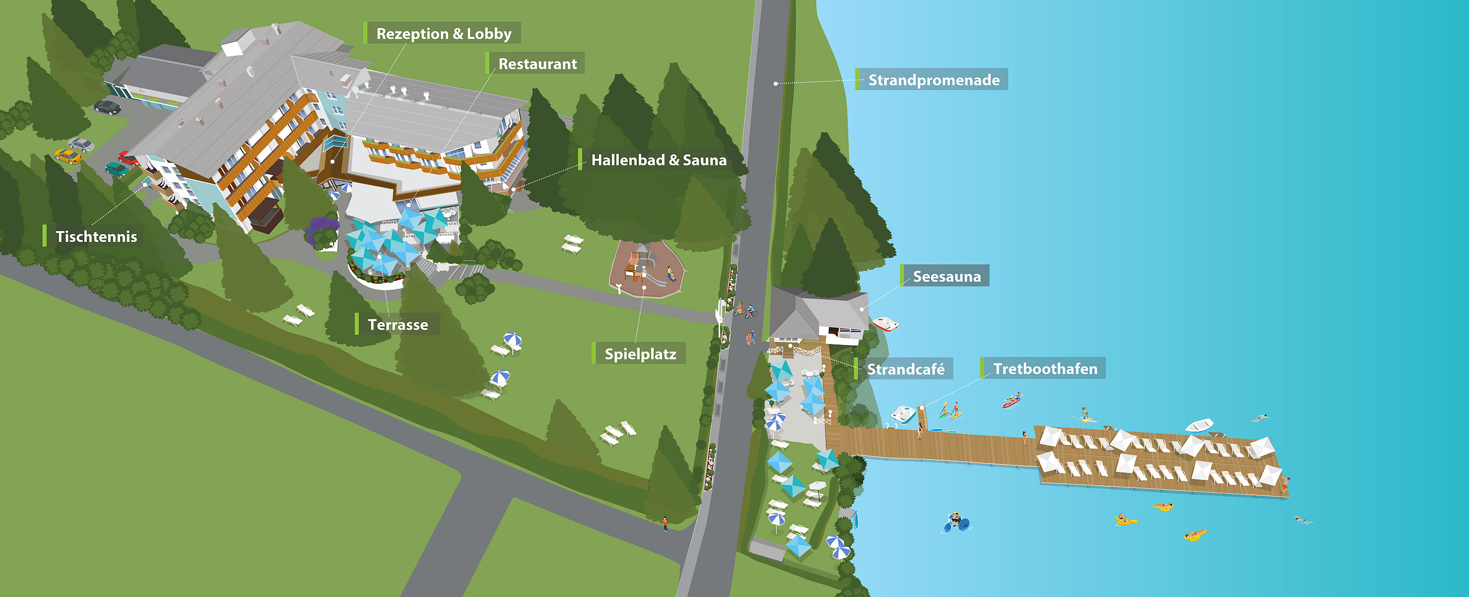 4 sterne hotel klopeinersee bersicht hotel birkenhof for Designhotel mit kindern